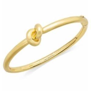 Kate Spade sailor's knot bangle bracelet